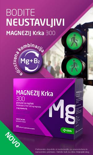 Magnezij Krka 300 granulat za napitek
